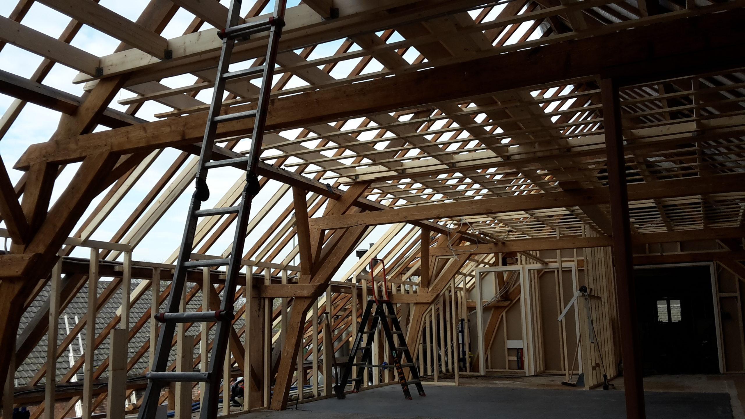 Verbouw achterhuis