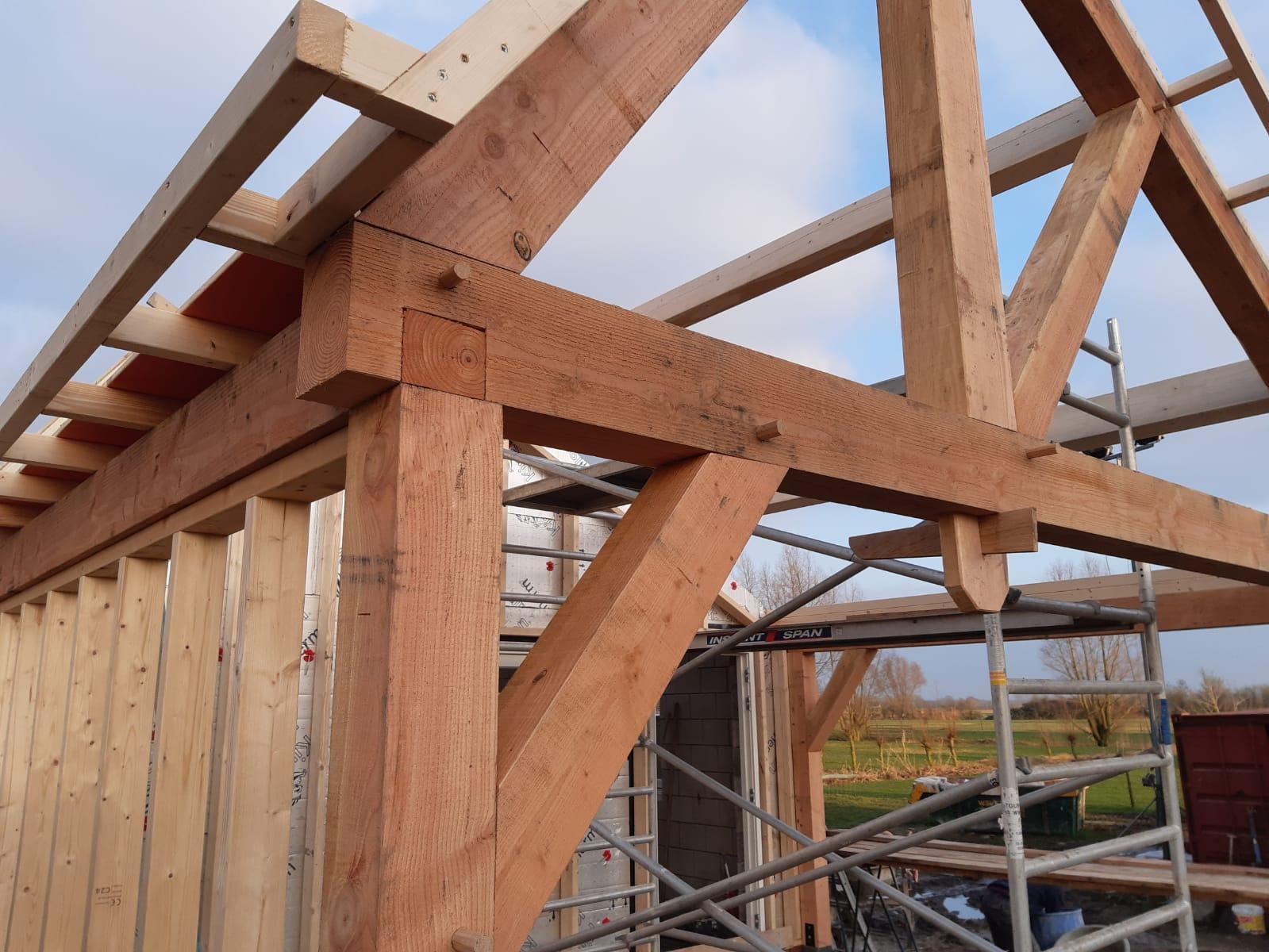 Douglas constructie veranda