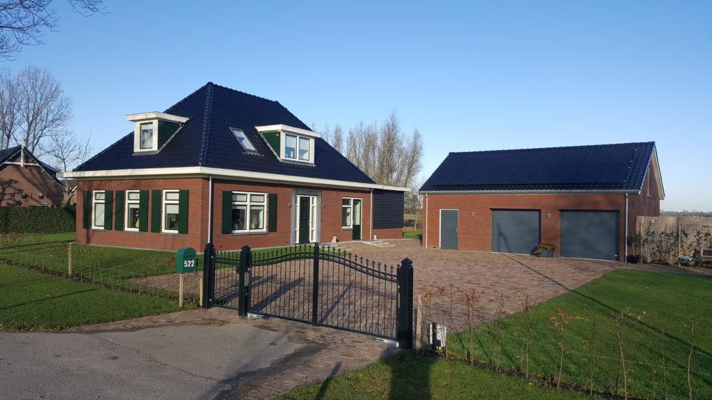 Nieuwbouw zelfvoorzienende woning