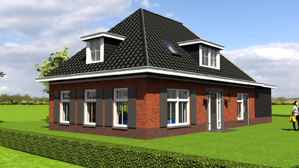 Ontwerp zelfvoorzienende woning